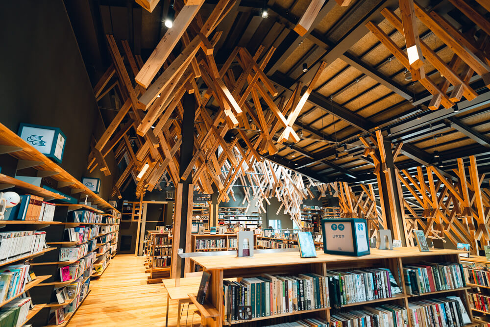 Kumonoue library photo spot9