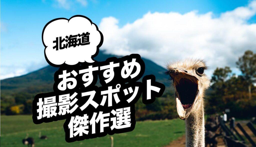 北海道のおすすめ撮影スポット